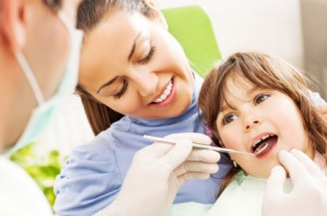 Visit to the dentist.