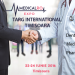 Targul International MedicaRo South-East Europe – Romania, Timisoara, 22-24 iunie 2016