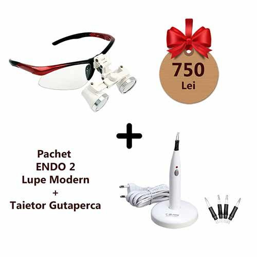 pachet promotional endo2 lupe electrocauter