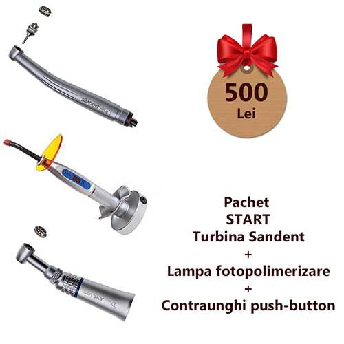 pachet promotional start turbina lampa contraunghi