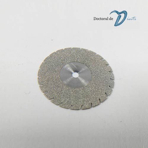 Disc Diamantat Dintat Tehnica Dentara 220 mm grosime 045