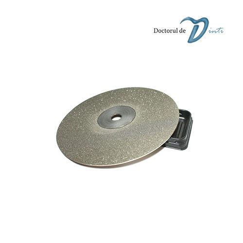 Disc Diamantat Tehnica Dentara 220 mm grosime 025 Fina