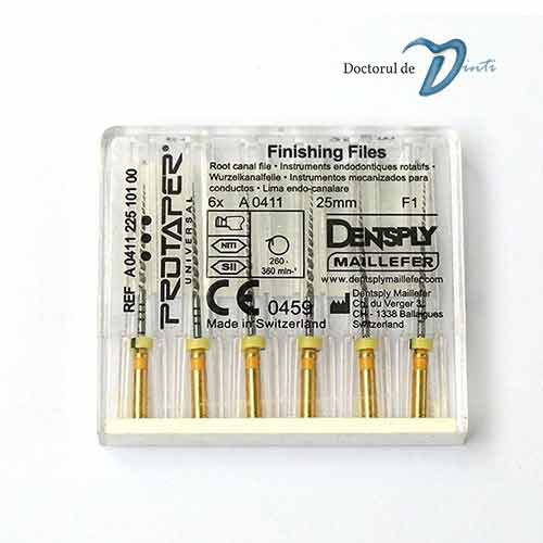 Ace rotative model Dentsply Protaper F1 25mm