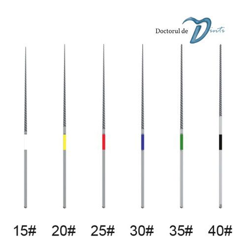 Ace endodontice U file ultrasunete 15-40 33mm MANI