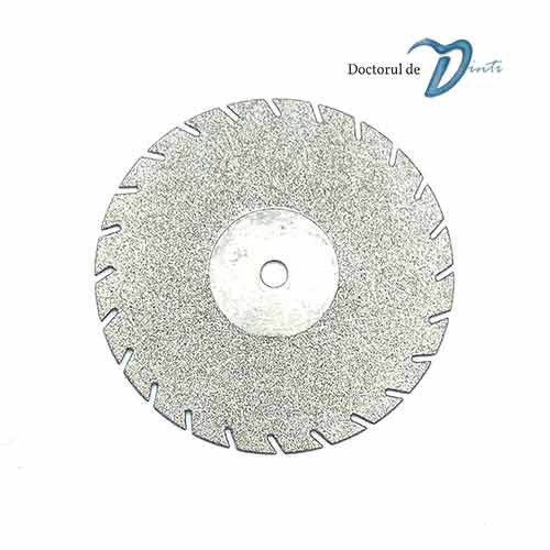 Disc diamantat 2 fete laborator tehnica dentara 22 mm C04