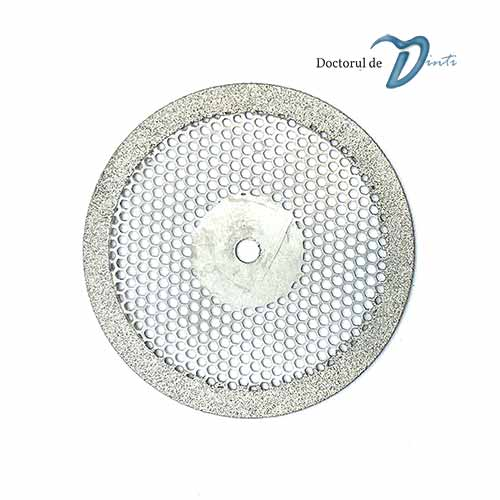 Disc diamantat 2 fete laborator tehnica dentara 22 mm C09