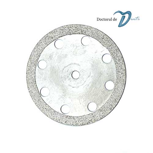 Disc diamantat 2 fete laborator tehnica dentara 22 mm CM02