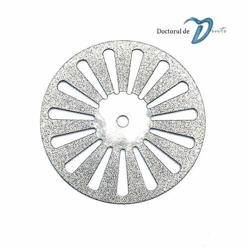 Disc diamantat 2 fete laborator tehnica dentara 22 mm CM05