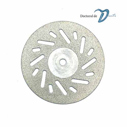 Disc diamantat 2 fete laborator tehnica dentara 22 mm CM06