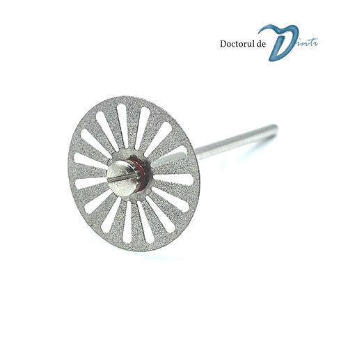 Disc diamantat 2 fete tehnica dentara 22 mm CM05