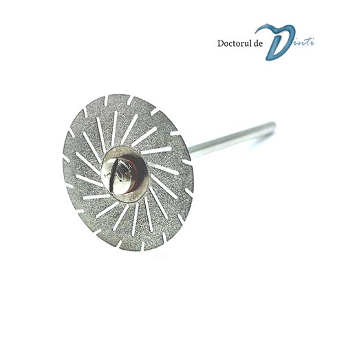 Disc diamantat 2 fete tehnica dentara 22 mm CM11
