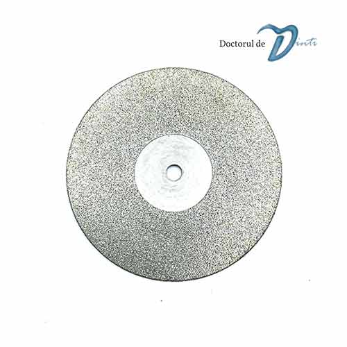 Disc diamantat o fata activa laborator tehnica dentara 22 mm CC01