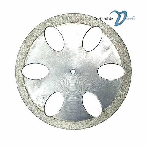 Disc diamantat sectionare modele gips 40 mm C07 tehnica dentara