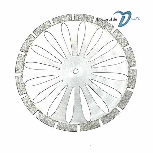 Disc diamantat sectionare modele gips 40 mm C10 tehnica dentara