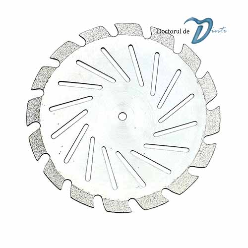 Disc diamantat sectionare modele gips 40 mm C11 tehnica dentara